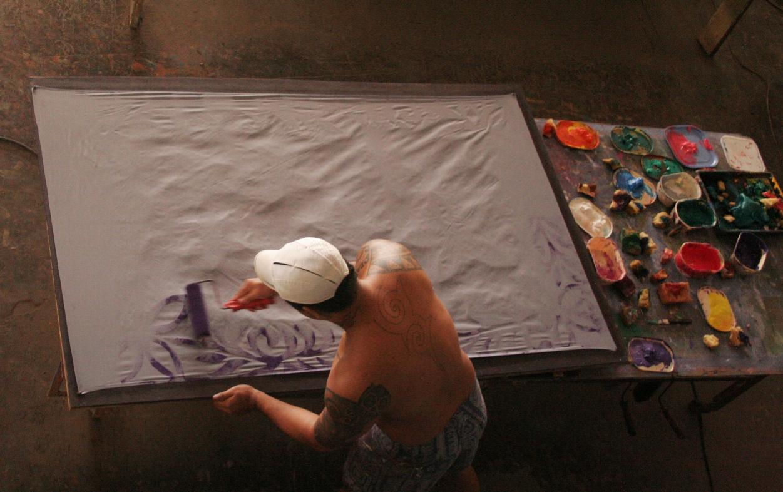 index albums photos polynesie tahiti impression tissu a la main. Black Bedroom Furniture Sets. Home Design Ideas